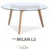 Стол журнальный SIGNAL Milan L2